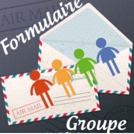 Formulaire de pré-inscription groupe