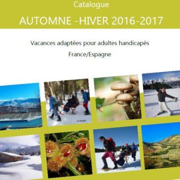 Catalogue automne hiver 2016-2017