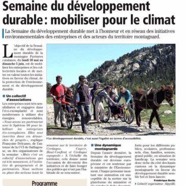 Semaine du développement durable 2016