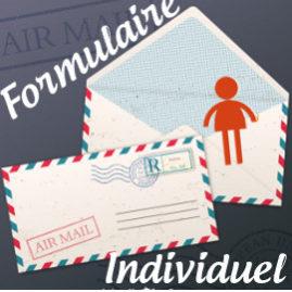 Formulaire de pré-inscription individuel