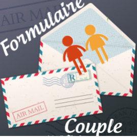 Formulaire de pré-inscription couple